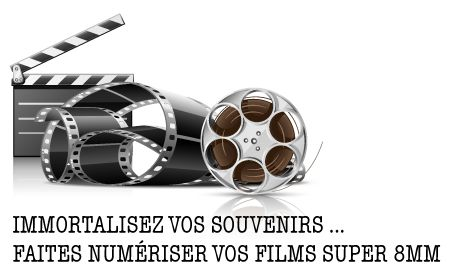 Vous possédez des films 8MM OU Super 8mm et vous souhaitez immortaliser ces souvenirs ?